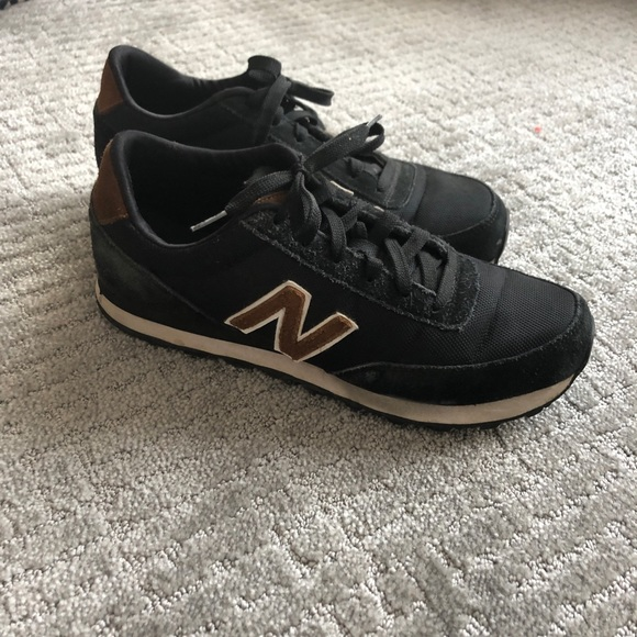 74f37106bef28 New Balance Shoes | Mens 501 In Navy Blue Brown Suede | Poshmark